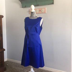 Blue Liz Claiborne dress